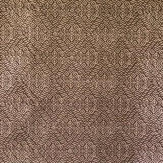 Virginia Kraft Kira Fabric, 3 Yards in Umber For Sale