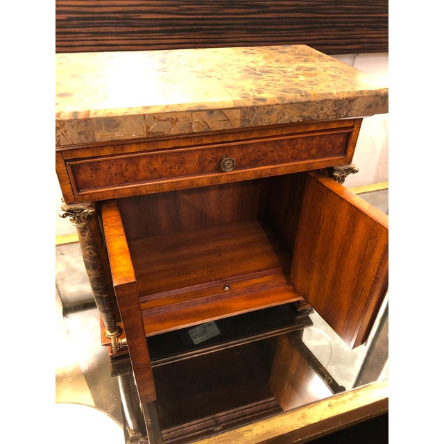 Brown Vintage Neoclassical Credenza Tabletop Treasure Box For Sale - Image 8 of 12