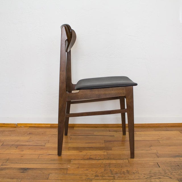 Yugoslavia Mid-Century Dining Chair For Sale - Image 4 of 10