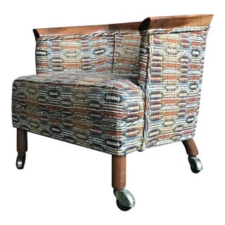 1950s Vintage Erwin Lambeth Slipper Chair For Sale