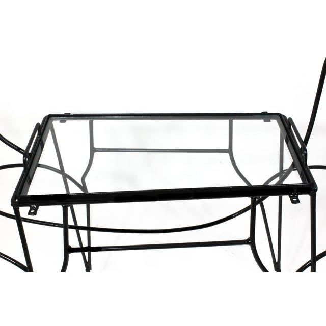 Mid-Century Horse-Form Bar Cart by John Risley For Sale - Image 9 of 12