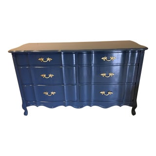 Lacquered French Provincial Credenza For Sale