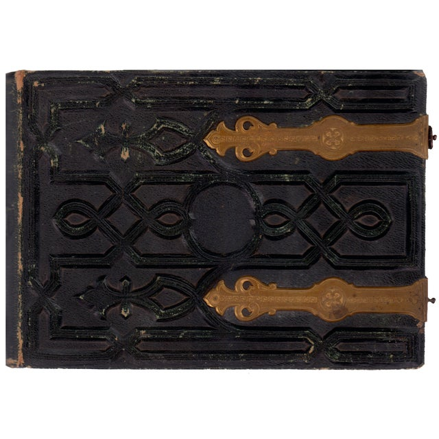 Leather Bound Album, Pour Photographies - Image 1 of 4
