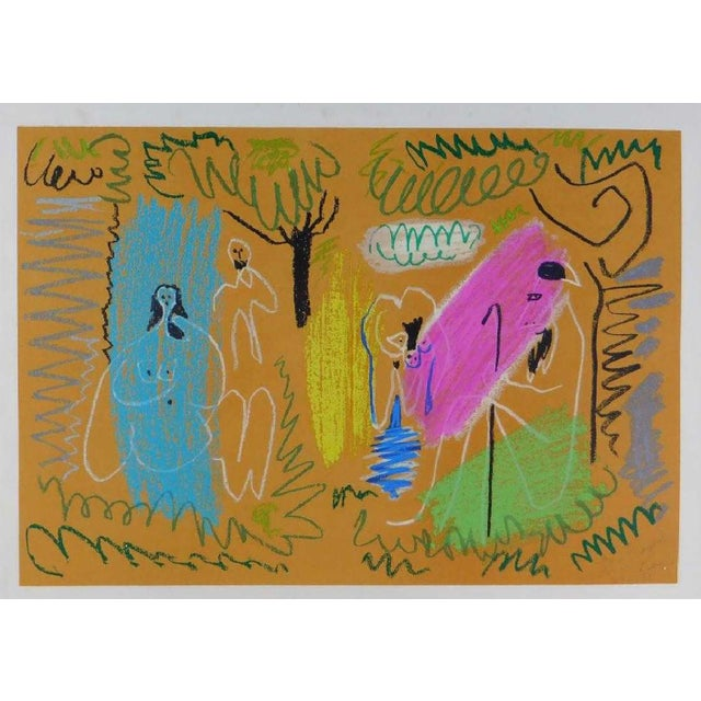1960s Pablo Picasso Pour Margaret For Sale - Image 5 of 5
