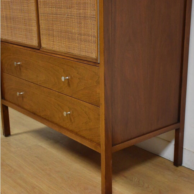 Paul McCobb Walnut Gentleman's Chest - Image 7 of 11