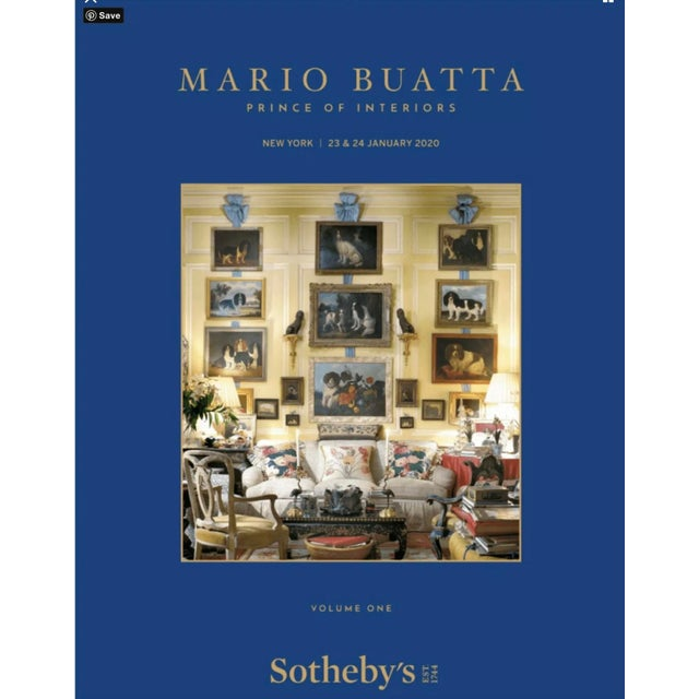 Sotheby's Preferred Auction Catalogue 2020 January Mario Buatta 2 Volumes For Sale In Los Angeles - Image 6 of 6