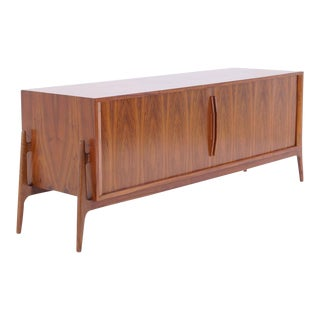 Massive Finn Juhl Attribution Rosewood Credenza For Sale