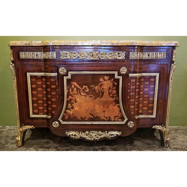 19th Century Louis XVI Commode After Reisener For Sale - Image 13 of 13
