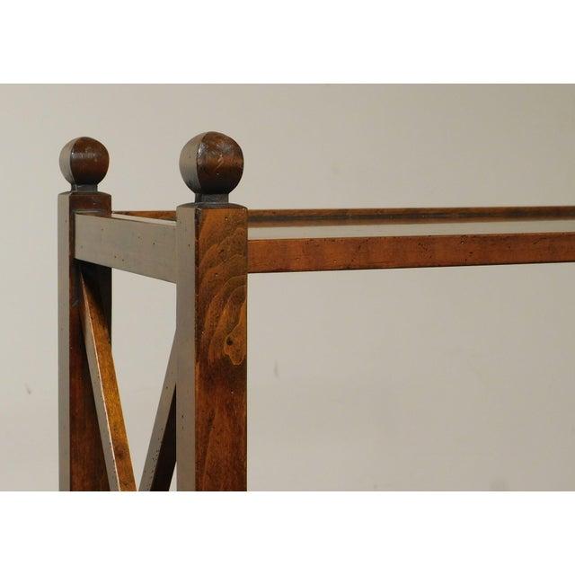 Wood Grange French Cherry 4 Tier Bookshelf For Sale - Image 7 of 13