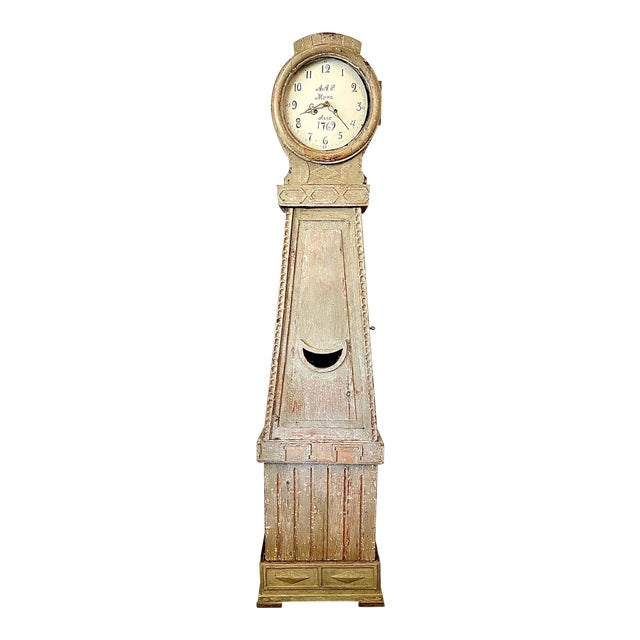 18th. C. Swedish Gustavian Mora Clock For Sale