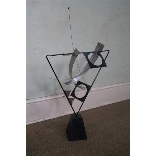 Curtis Jere Metal Mobile Kinetic Sculpture - Image 2 of 4