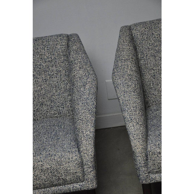 Pair of Italian Sculptural Form Lounge Chairs For Sale - Image 4 of 7