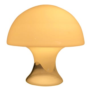 1970s Gino Vistosi Murano Glass Mushroom Lamp