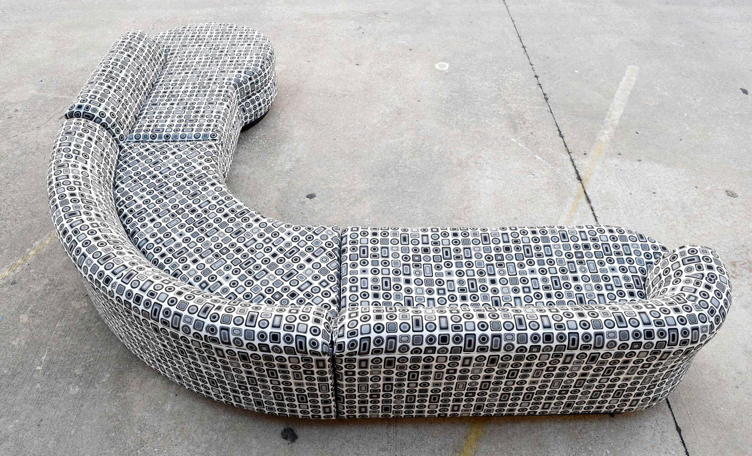 Vladimir Kagan Serpentine Sofa For Directional   Image 3 Of 8