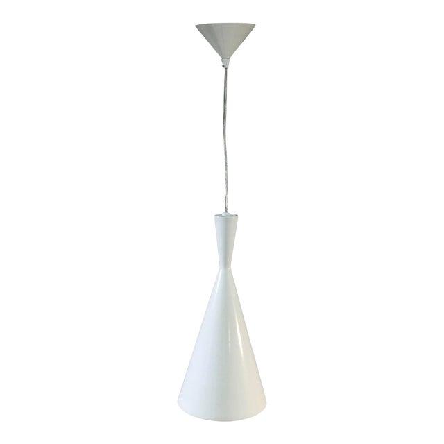 EuroFase Bronx 1-Light White Ceiling Pendant For Sale