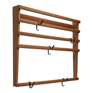 Carl Auböck Coat Rack, Austria, 1950s For Sale