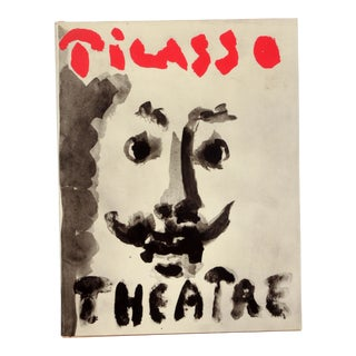 Vintage Picasso Theatre Hardcover Coffee Table Art Book For Sale
