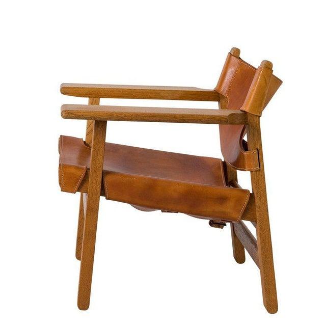 "Børge Mogensen Børge Mogensen ""Spanish"" Chair For Sale - Image 4 of 10"