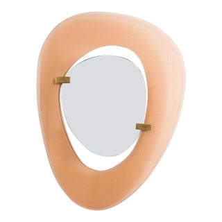 Fontana Arte Mirror by Max Ingrand, Italy Circa 1958 For Sale