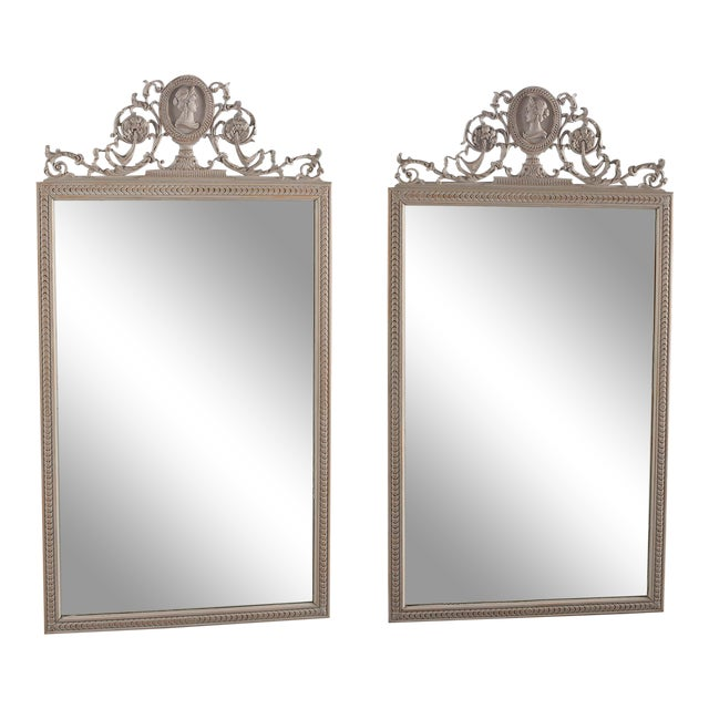 19th Century Directoire Mirrors - a Pair For Sale