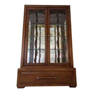Bernhardt Blacker Bunching Curio For Sale