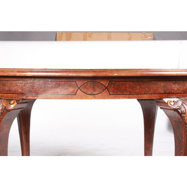 C.1880 English Dining Table - Image 5 of 10