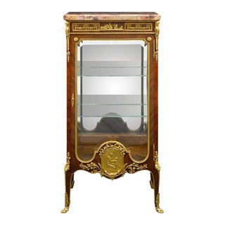 Louis XVI-Style Vitrine by Francois Linke For Sale