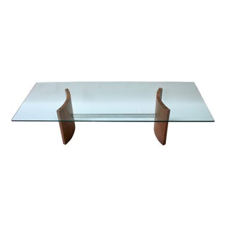 1960s Vladimir Kagan Radius Coffee Table For Sale