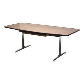 George Nelson for Herman Miller Action Walnut Desk For Sale