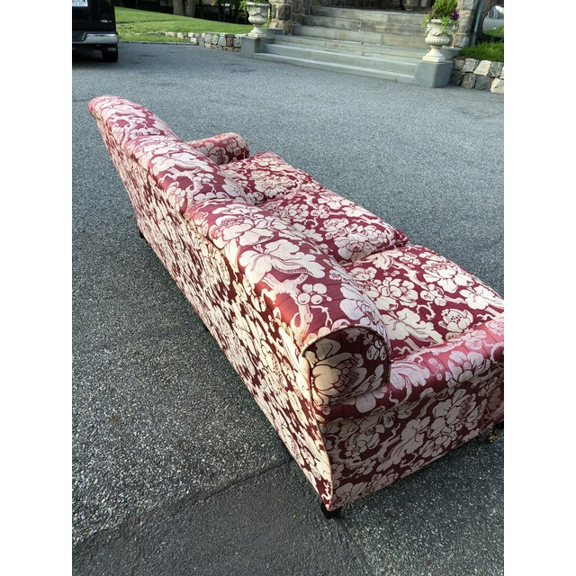 Textile George Smith Japonais Spice Fabric Sofa For Sale - Image 7 of 11