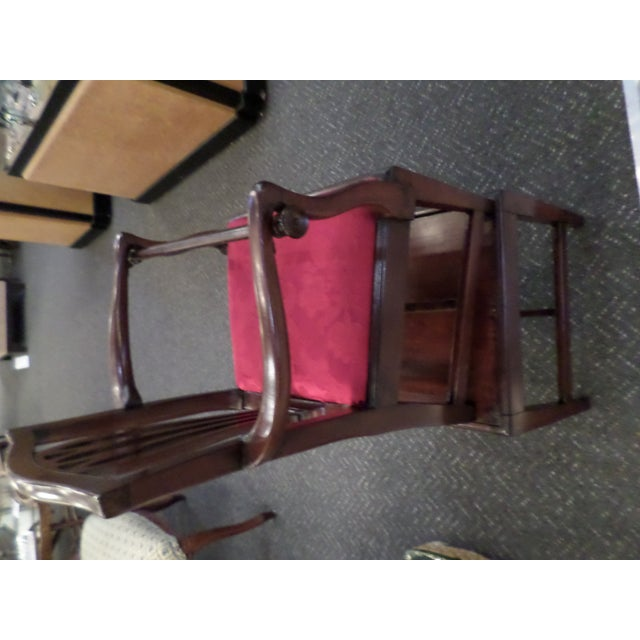 George III Mahogany Child's High Chair For Sale - Image 4 of 7