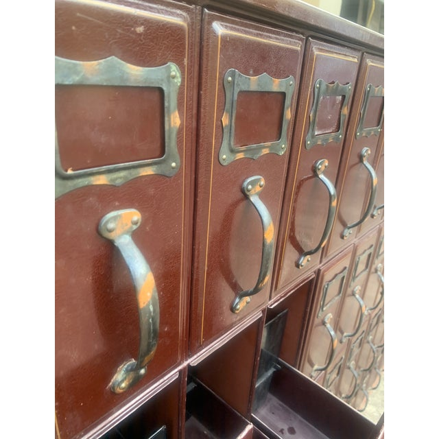 Metal Mid 20th Century Vintage Industrial File Cabinet For Sale - Image 7 of 11