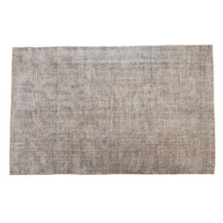 "Vintage Distressed Sparta Carpet - 5'8"" X 8'11"" For Sale"