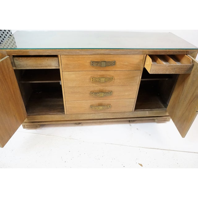 James Mont Style Asian Mid-Century Modern Sideboard For Sale In New York - Image 6 of 8