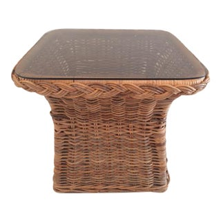 Bielecky Brothers Rattan Coffee Table