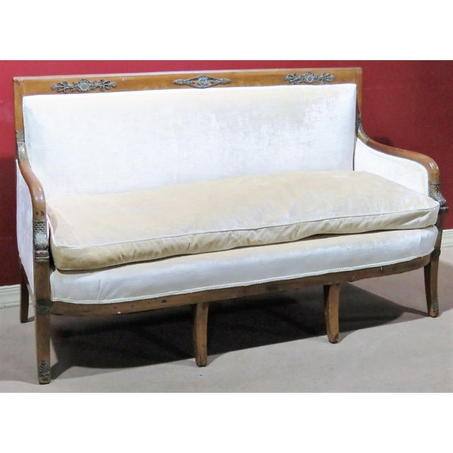 Regency Style Upholstered Sofa - Image 6 of 8