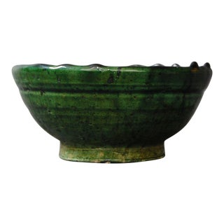 Tamegroute Green Pottery Bowl