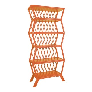 Hollywood Etagere - Orange For Sale