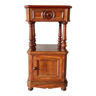Vintage French Provincial Bedside Table Night Stand