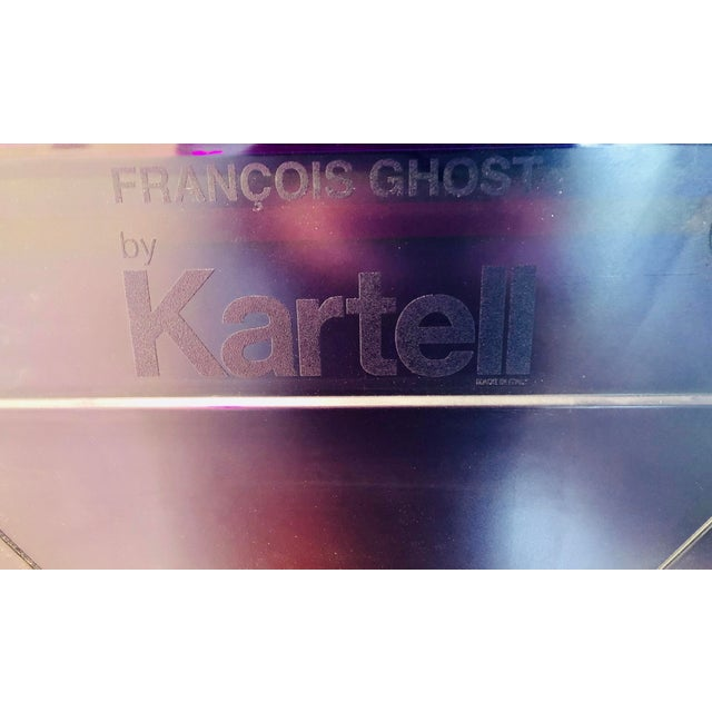 Purple Francois Ghost Mirror by Phillippe Starck for Kartell For Sale - Image 9 of 10