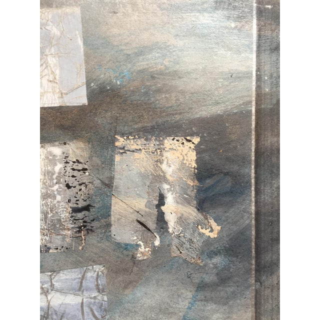 Silver Paradigm 1980s Mixed Media Abstract For Sale In San Francisco - Image 6 of 10