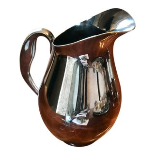 1960s Reed & Barton Silver Plate Pitcher For Sale