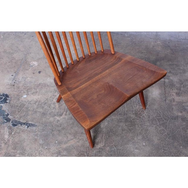 Brown Lounge Chair by George Nakashima For Sale - Image 8 of 10