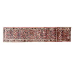 "Leon Banilivi Antique Sarouk Runner - 2'9"" X 15'9"""