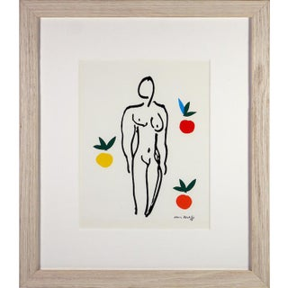 Henri Matisse Nu Aux Oranges Silkscreen For Sale