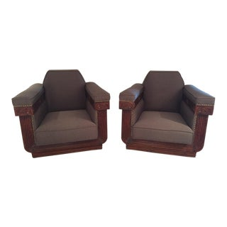 Shanghai Art Deco Chairs - A Pair