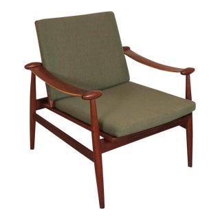"""Finn Juhl for France and Daverkosen Arm Chair """"Spadelstolen"""" For Sale"""