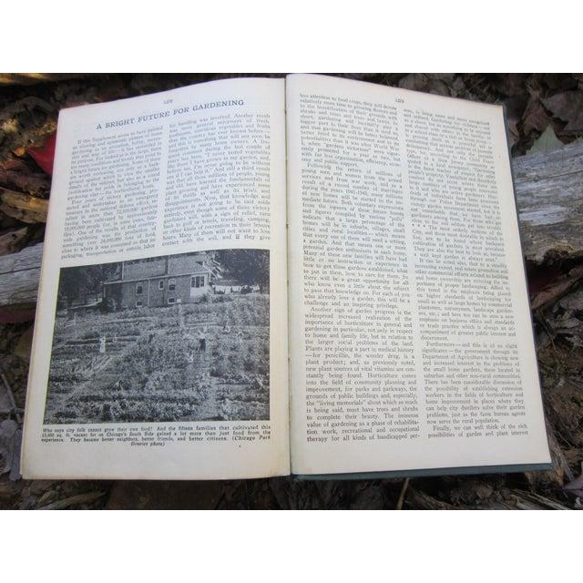 Paper 1940s Vintage New Garden Encyclopedia Book For Sale - Image 7 of 12