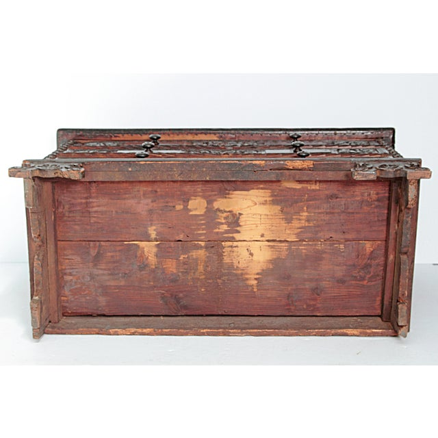18th Century Spanish Walnut Chest For Sale - Image 11 of 12