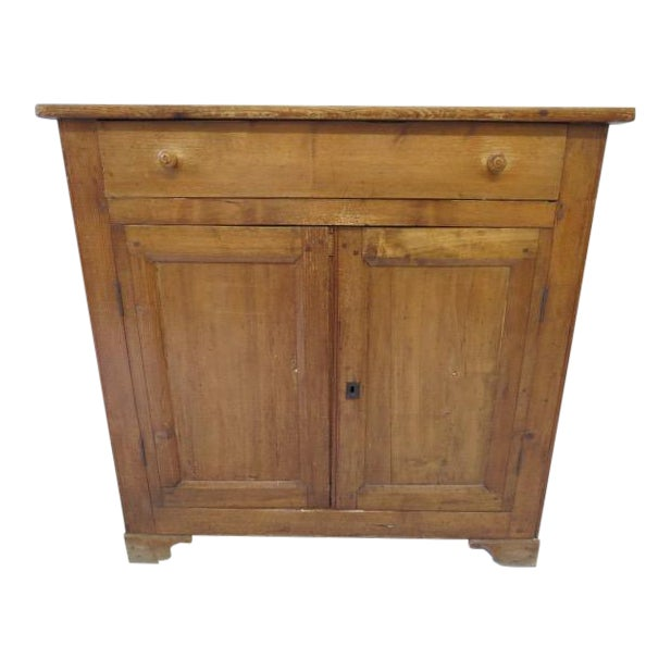 1920s Antique French Rustic Cabinet - Image 1 of 9